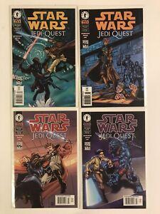 Star Wars Dark Horse Jedi Quest Series #1, #2, #3, #4 Complete Set 1-4 A+