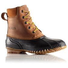 SOREL CHEYANNE LACE FULL GRAIN LEATHER MEN'S WATERPROOF WINTER BOOTS Size 11.5
