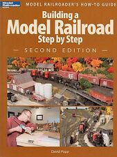 Model Trains Layout Self Help Book Building a Model Railroad Step by Step