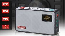 TECSUN ICR-100 Portable FM Radio Digital Recorder MP3 Player without SD Card