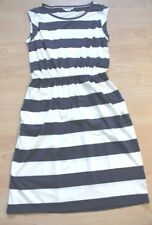 BODEN  striped blackberry Dress  size 10p petite    WH981