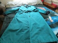 london fog limited edition green ladies winter/rain coat size 10