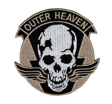 METAL GEAR SOLID OUTER HEAVEN EMBROIDERED IRON ON  PATCH (MTO4)