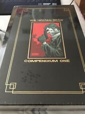 SEALED THE WALKING DEAD HARDCOVER SDCC COMPENDIUM 1 GOLD FOIL one skybound 2 3