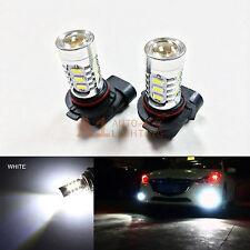 2x White 9005 15w High Power Bright LED Bulbs 5730 15SMD DRL/High Beam Headlight