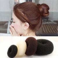 Womens Girls Hair Bun Ring Donut Shaper Ring Styler Former Doughnut Updo Newest