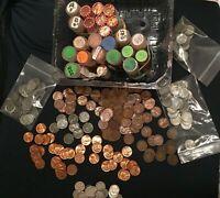 MIX LOT 108  OLD U.S. COINS W/SOME 90% SILVER. BONUS!