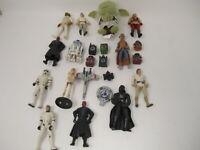 Lot of Star Wars Figures Luke Skywalker Darth Maul Darth Vader Yoda R2-D2 X-Wing