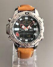 Inex SeaLife Professional Japan Made Citizen C500 Depth Meter Mens Diver Watch