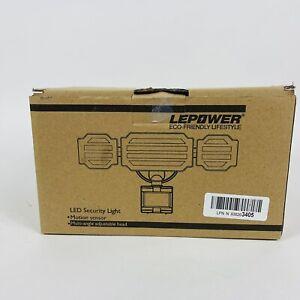 LEPOWER 35W LED Security Lights Motion Sensor Light Outdoor 3500LM Motion Secure