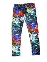 6535- Damen Ab Ladenkette Tcl/tk Farbig Polyester Leggings