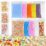 Slime Supplies Kit Slime Accessories for DIY Floam Balls Glitter Fishbowl Beads