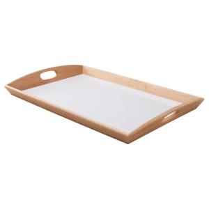 IKEA Serving Tray Food Breakfast Kitchen Coffee Tea Table Handle Cafe 38x58 cm