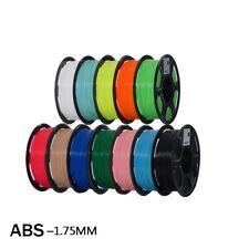 3D Printer Filament ABS Plastic 1kg Smooth Surface Polish Printing Pen Materials
