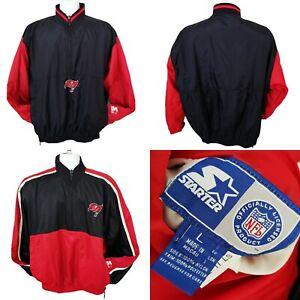 90s Starter Tampa Bay Buccaneers Reversible Jacket NFL Pullover Windbreaker LRG