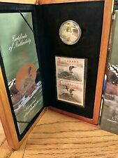 2004 Canada The Elusive Loon Limited Edition Stamp and Coin Set