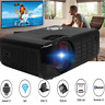 HD 1080P LED Mini Projector Home Theater 18000 Lumen USB Projection WiFi S4M9