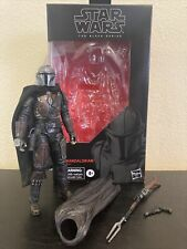 Custom Star Wars Black Series The Mandalorian With Custom Cape 6? Action Figure