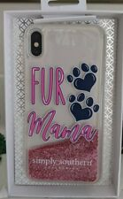 Simply Southern~~FUR Mama~ iphone xs max~Phone Cas~NIB