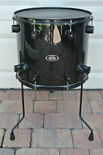 "PDP by DW 805 SERIES 16"" BLACK ON BLACK FLOOR TOM for YOUR DRUM SET! LOT #V490"