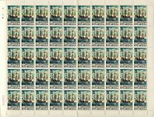 ST. KITTS-NEVIS #207 English Two-Decker Christopher Nevis Anguilla Sheet Postage