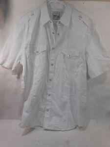 New Mens JORDAN CRAIG  Button-up White Shirt Size XXL***