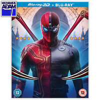SPIDER-MAN: FAR FROM HOME Blu-ray 3D + 2D (REGION-FREE) IN-STOCK READY TO SHIP!