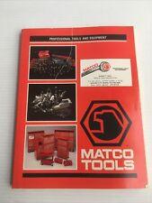 1989 Matco Automotive Vintage tool and Equipment catalog automotive tool box