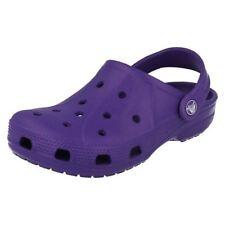 Scarpe zoccoli Crocs verde per bambini dai 2 ai 16 anni