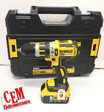 Perceuse à Percussion Dewalt DCD795P2-QW 18V XR Lithium 2 Batteries 5Ah
