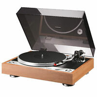 ONKYO CP-1050 - DIRECT DRIVE TURNTABLE NATURAL WOOD , RECORD PLAYER