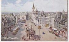 Union Street from East End Aberdeen Art Postcard, B682