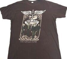 Bon Jovi shirt Concert shirt The Circle Tour Brown tee Bon Jovi tee Band tee M