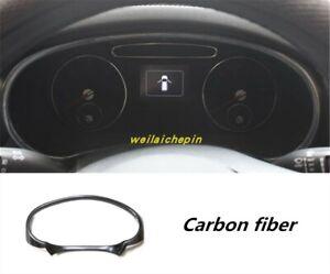 Carbon Fiber Interior front dashboard cover trim Frame For KLA Sorento 2015-2019
