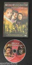 House of Flying Daggers Ziyi Zhang DVD Widescreen Edition