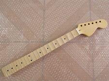 Big headstock Full scalloped Guitar Neck for ST style 22 Fret Maple guitar part