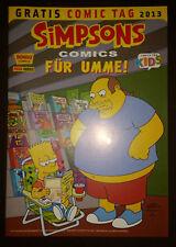 SIMPSONS: BONGO COMICS FÜR UMME! - GRATIS COMIC TAG 2013 - TOP