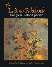 The Ladino Fakebook Sheet Music Songs in Judeo-Spanish Melody Lyrics C 000333880