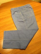 "1 Pair Men's Towncraft Stretch Jeans Sz 34.5""x28 Blue EUC"
