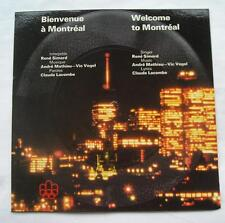 *MONTREAL OLYMPIC '76 Olympiques 1976 RENE SIMARD Flexi disc 7 WELCOME Bienvenue