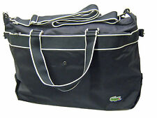 LACOSTE Weekender DUFFLE BAG HOLDALL New City Casual 14  Black