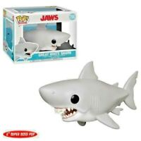 """JAWS MOVIE - SHARK - SUPER SIZED FUNKO POP - BRAND NEW - mint 6""""BD NEW"""