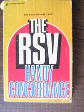 RSV Handy Concordance (1972, Paperback) 11th printing 1981 vintage