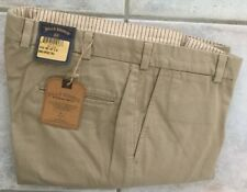 NWT!-Bills khakis M30-KVT Size 34x30 VINTAGE TWILL TRIM FIT KHAKI PLAIN $165