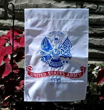 12x18 United States Army Embroidered Garden Flag Garden Pole Sleeve QUICK SHIP