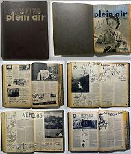 CAMPING PLEIN AIR _18 numeri 1947-48_ camper _ roulotte _ alpinismo _ itinerari