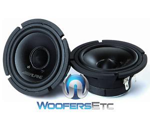 """ALPINE 30MC 3"""" 300W MAX MIDRANGE CAR AUDIO SPEAKERS PAIR NEW"""