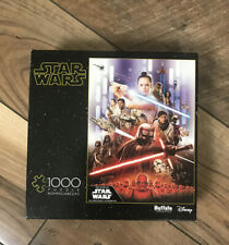 Disney Star Wars Rise Of Skywalker 1000 Piece Jigsaw Puzzle used