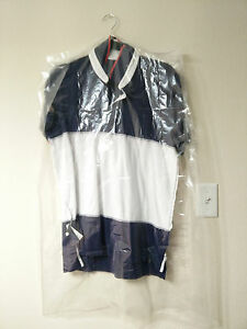 """CLEAR POLY GARMENT BAGS Dry Cleaning Laundry Suits & Dresses New 21""""x4""""x38"""""""