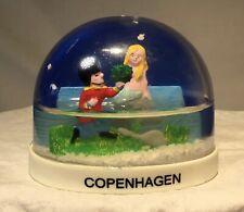 Vintage Snow Globe Travel Souvenir Copenhagen Estate Find